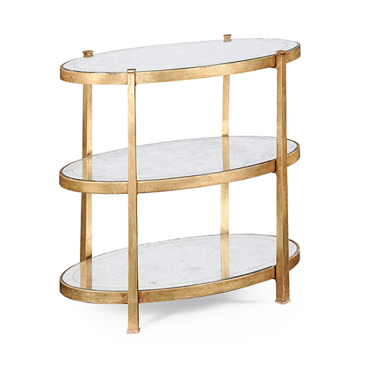 Jonathan Charles Select Collection Luxe Three Tier Table QS 494174 / Jonathan Charles Fine Furniture at Kings always for the best service and prices