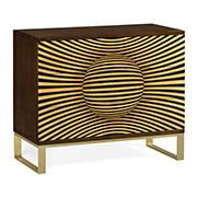 Jonathan Charles 3D Op Art Chest Of Drawers 500082 SWB