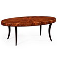 Jonathan Charles Santos Art Deco Oval Coffee Table 494139/494139 at Kings always for the better deal