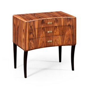 Jonathan Charles Art Deco Curved Chest of Drawers 494152 High Lustre at Kings always for the best deal