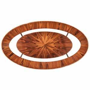 Jonathan Charles Santos Art Deco Combi Oval Coffee Table 3 494128 Satin at Kings always for the better deal