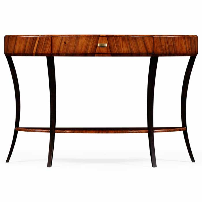 Delicieux Jonathan Charles Santos Art Deco Demilune Large Console Table 2 494015  Satin At Kings Always For