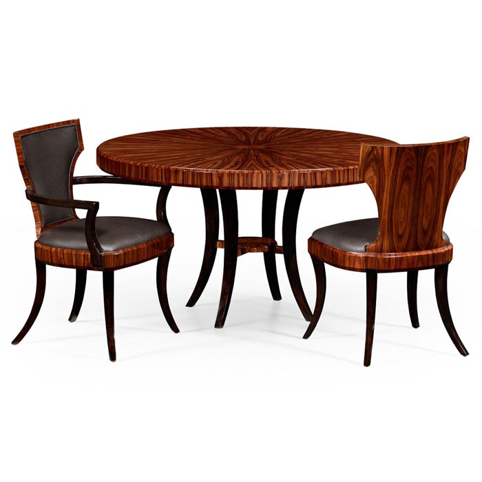 Jonathan Charles Santos Art Deco Round Dining Table 494574 High Lustre At Kings Always Providing The