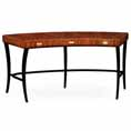 Jonathan Charles Select Collection Santos Art Deco Curved Desk 494089/ 494089 / Jonathan Charles Fine Furniture at Kings always for the best service and prices
