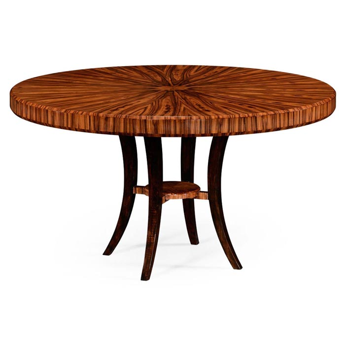 Jonathan Charles Santos Art Deco Round Dining Table 2 494574 High Lustre At Kings Always Providing