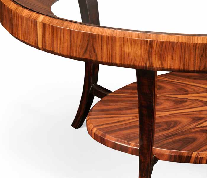 jonathan charles select collection santos art deco rosewood and