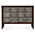 Jonathan Charles Metropolitan Anthracite Shagreen Chest of Three Drawers 494363 / Jonathan Charles Fine Furniture at Kings always for the best service and prices