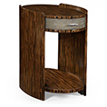 Jonathan Charles Metropolitan Oval Side Table 494517 / Jonathan Charles Fine Furniture at Kings always for the best service and prices