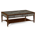 Jonathan Charles Select Collection Metropolitan Rectangular Coffee Table QS 494519 / Jonathan Charles Fine Furniture at Kings always for the best service and prices