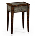 Jonathan Charles Select Collection Metropolitan Anthracite Shagreen Lamp Table ST 494522 / Jonathan Charles Fine Furniture at Kings always for the best service and prices