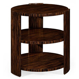 Jonathan Charles Metropolitan Macassar Side Table 494397 / Jonathan Charles Fine Furniture at Kings always for the best service and prices