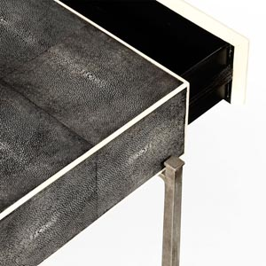 Jonathan Charles Shagreen Console Table / Jonathan Charles Fine Art Deco Furniture at Kings for luxury furniture online and in store
