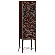 Jonathan Charles Soho Collection Macassar And Ebony Drinks Cabinet With White Brass Details 495189 AMA