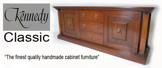 REH Kennedy / R.E.H. Kennedy (Makers of Fine Furniture) Classic Collection at Kings the home of quality cabinet furniture. Kennedy cabinet furniture, second to none. Handmade Great British Furniture