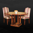 REH Kennedy Classic Circular Table 5022 and Chairs 4049 / R.E.H. Kennedy Classic Circular Table 5022 and Chairs 4049 / Kennedy Fine Furniture at Kings always for the best prices and service