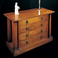 REH Kennedy Classic Four Drawer Chest 5004 / R.E.H. Kennedy Classic Four Drawer Chest / Kennedy Fine Furniture at Kings always for the best prices and service