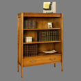 REH Kennedy Deco Bookcase with Drawer 4770 / R.E.H. Kennedy Deco Bookcase with Drawer / Kennedy Fine Furniture at Kings always for the best prices and service