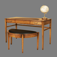 REH Kennedy Deco Writing / Dressing Table