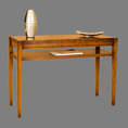 REH Kennedy Deco Console / Side Table with High Shelf / R.E.H. Kennedy Deco Console / Side Table with High Shelf / Kennedy Fine Furniture at Kings always for the best prices and service