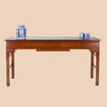 REH Kennedy Traditional Console Table with Inset Glass Top / R.E.H. Kennedy Traditional Console Table with Inset Glass Top / Kennedy Fine Furniture at Kings always providing the best service and prices