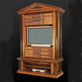 REH Kennedy TV Classic Bookcase 5023 / R.E.H. Kennedy Classic TV Bookcase / Kennedy Fine Furniture at Kings always for the best service and prices