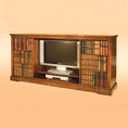 REH Kennedy TV Cabinet With Sliding Door