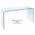 Lychee Arc Glass Console Table at Kings who will always provide the best prices and service