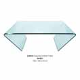 Lychee Curvo Square Glass Coffee Table at Kings who will always provide the best prices and service