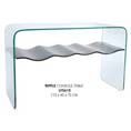 Lychee Ripple Glass Console Table at Kings who will always provide the best prices and service