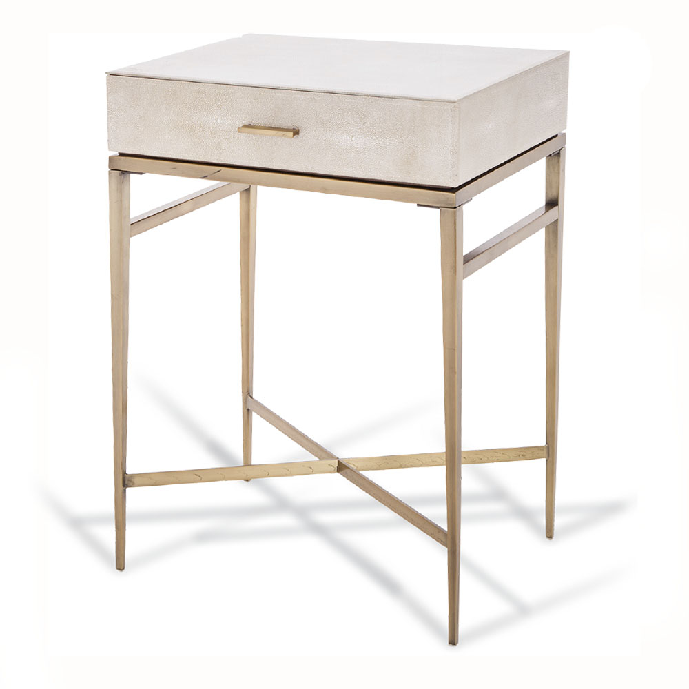Rvs Side Table.R V Astley Esta 1 Drawer Side Table 8005 Kings
