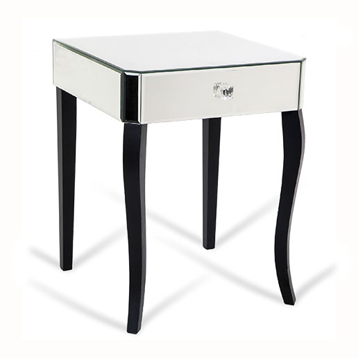 R V Astley Clarissa Bedside Mirror Table 8792