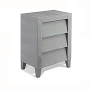 R V Astley Colby 3 Drawer Side Table 8268