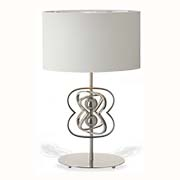 R V Astley Charles Bateson Infinity Table Lamp 50100 ( Including Shade )