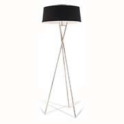 RV Astley Arlo Tripod Floor Lamp Chrome Black 5464 (Including Shade )