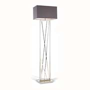 RV Astley Carinne Nickel Floor Lamp 5146 ( Including Shade )