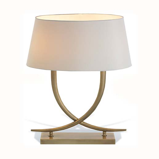R V Astley Iva Table Lamp 5082 ( Including Shade )