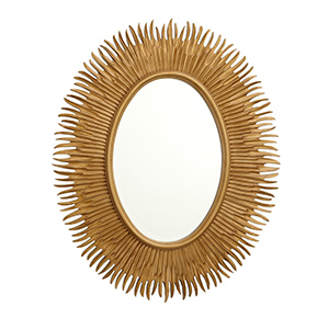 R V Astley Moher Antique Gold Mirror 7026