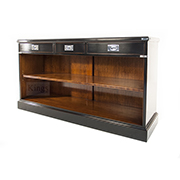 REH Kennedy Military Bookcase With Three Drawers 4221 / R.E.H. Kennedy Military Bookcase with Three Drawers / Kennedy Fine Furniture at Kings always for the best prices and service