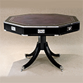REH Kennedy Military Octagonal Table 4196