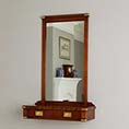 REH Kennedy Military Wall Mounted Console With Mirror 4241