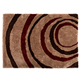 Flair Rugs Grande Vista Droplet Red Brown