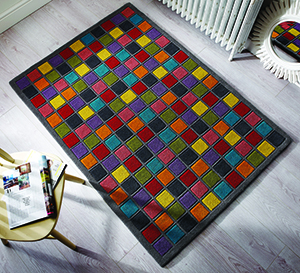 Flair Rugs Illusion Campari Multi