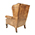 Contrast Upholstery Chaucer Wing Chair 2
