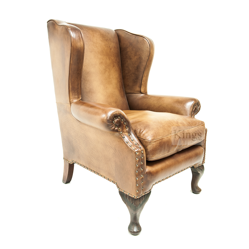 Tetrad Upholstery Chaucer Wing Chair Kings