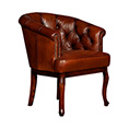 Tetrad Cabriole Button Back Chair