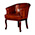 Tetrad Cabriole Chair Without Buttons