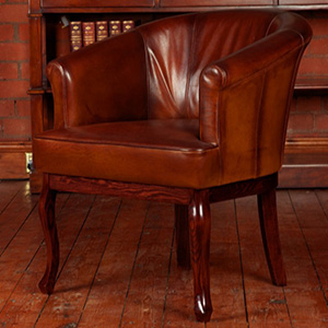 Tetrad Cabriole Chair Without Buttons 2