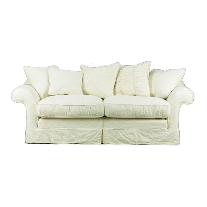 Tetrad alicia petit sofa for Loose covers for sofa elegant motif