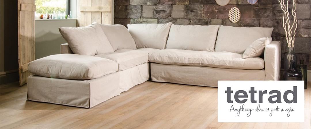 Tetrad upholstery nirvana loose cover sofa for Loose covers for sofa elegant motif