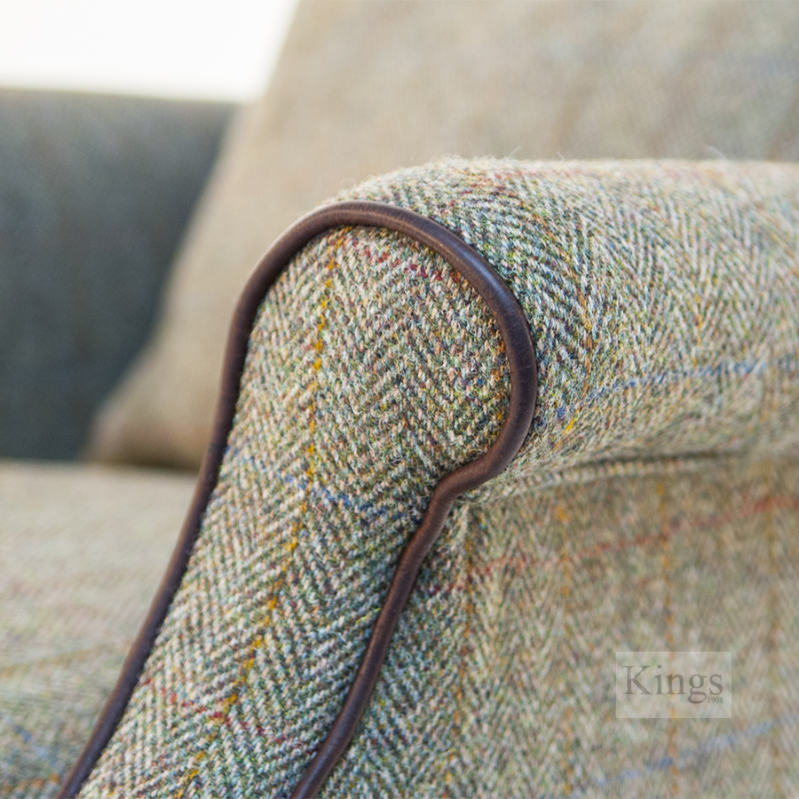 Tetrad Harris Tweed Bowmore Chair Kings